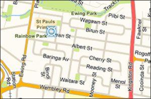 st_pauls map